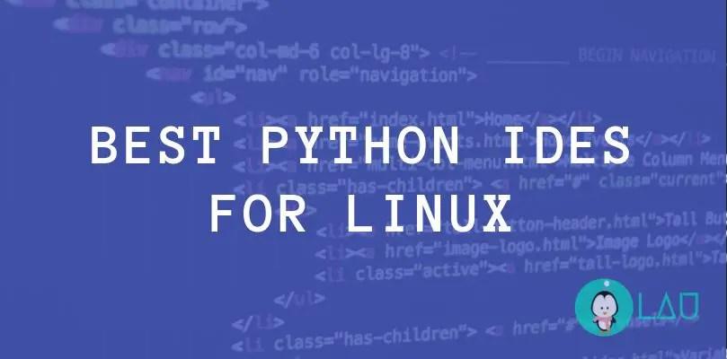 best python ides for linux