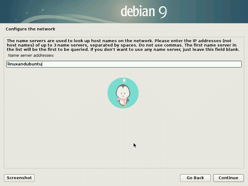 Debian configure network