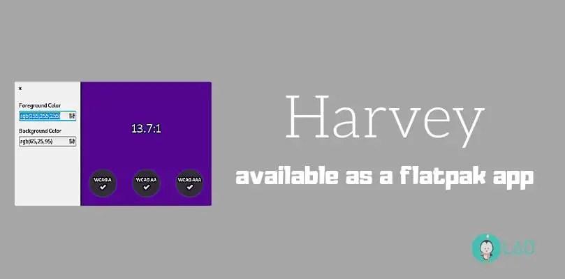 harvey flatpak app