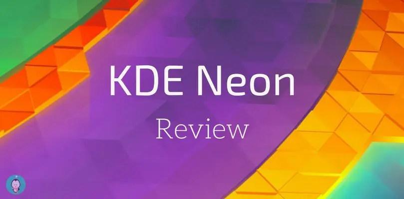 KDE Neon complete distro review