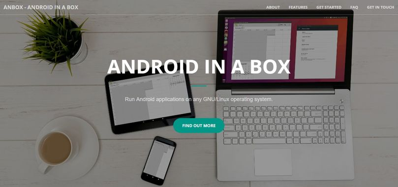 anbox run android in linux