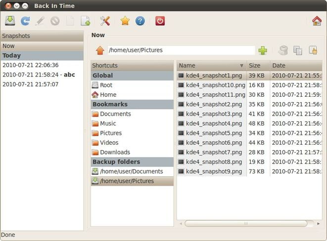 back in time a linux backup tool