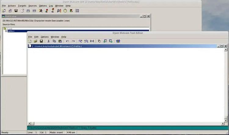 code editor window