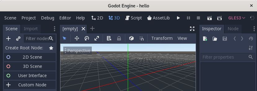 develop 2d 3d games with godot