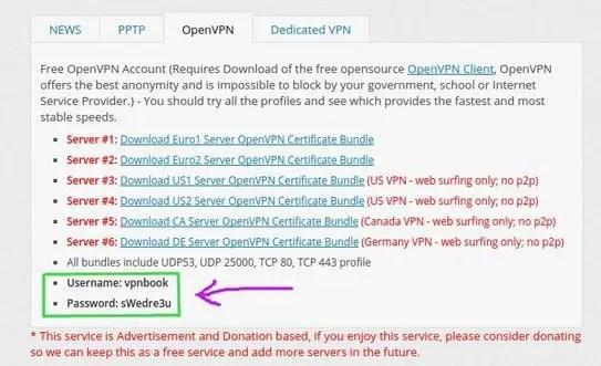 download openvpn certificate bundles