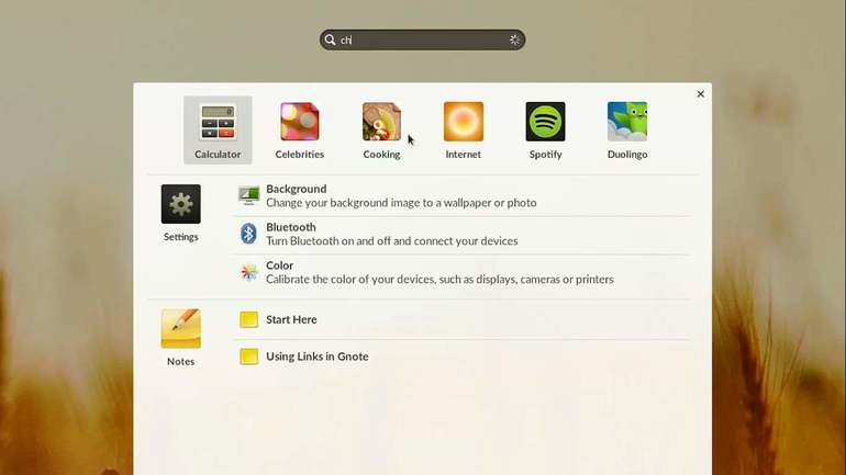 endless os search applications