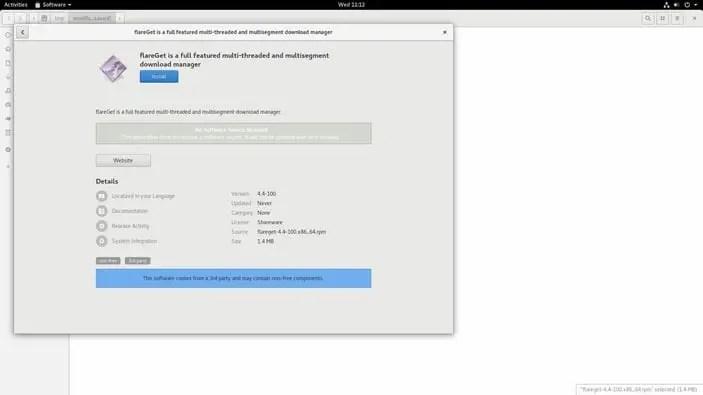 flareget download manager for linux