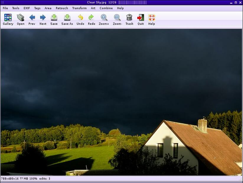 fotoxx linux image editor
