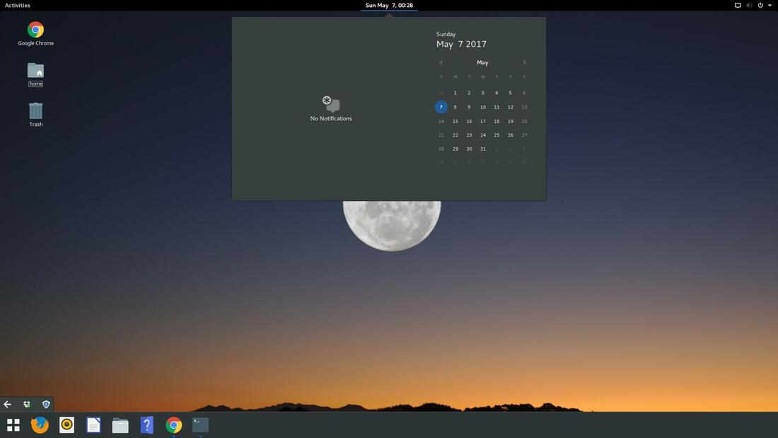 gnome desktop environment
