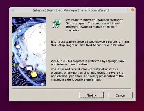 install idm wizard