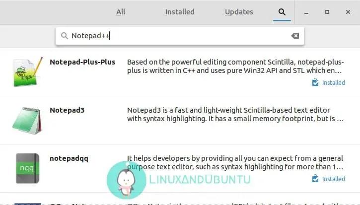 install notepad++ ubuntu software