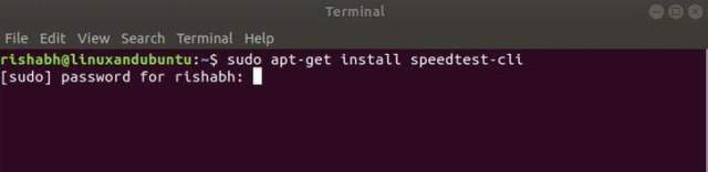 install speedtest-cli in linux