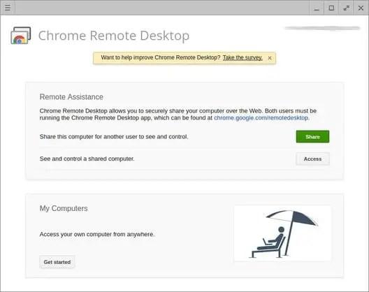 linux remote desktop