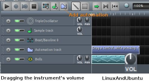 lmms automation