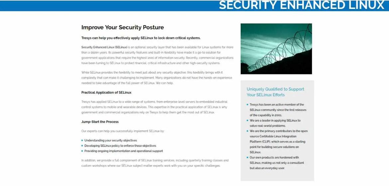 security enhanced linux selinux