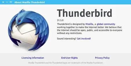 thunderbird email client for ubuntu linux