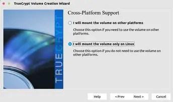 truecrypt cross-platform support