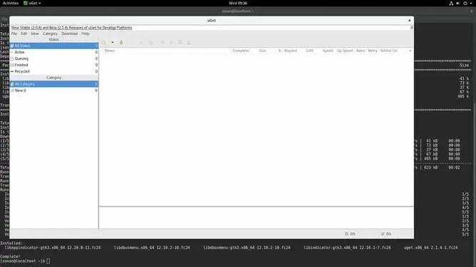 uget linux download manager