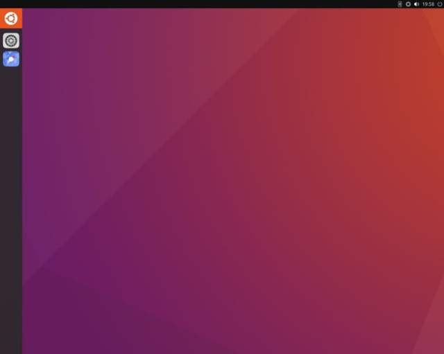 unity 8 desktop environment