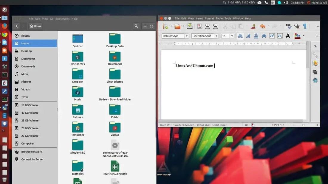 unity desktop environment