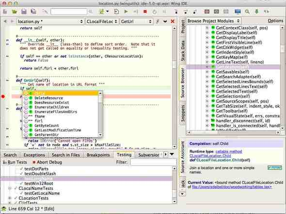 wing ide for python programming