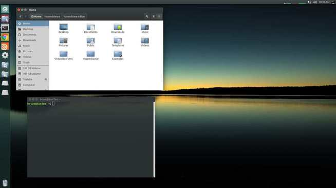 yosembiance linux theme