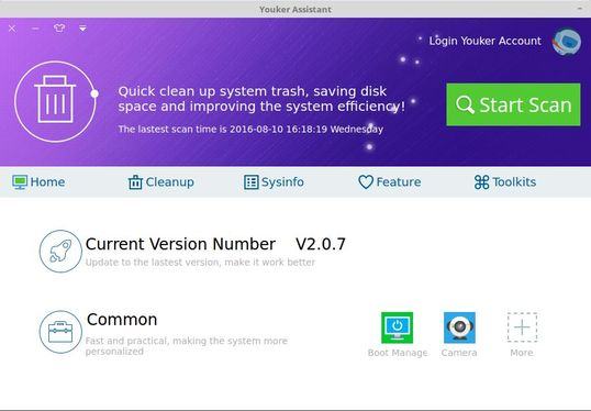 Youker Assistant For Linux System Maintenance Cleanup Tool