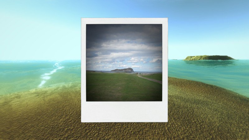 Awkward Dimensions Redux game screenshot sea