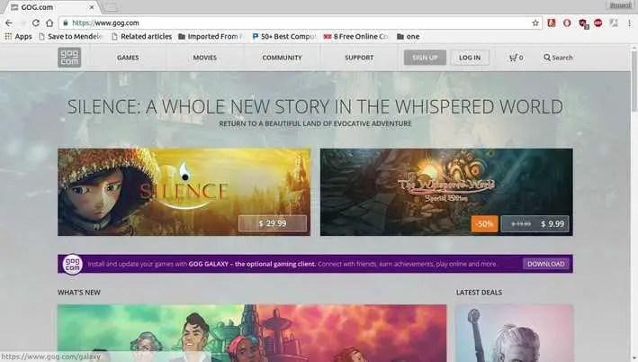 GOG gaming platform