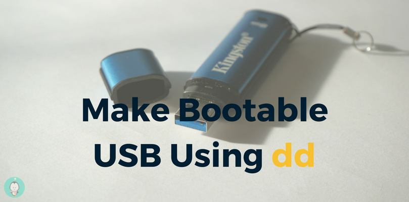 How To Burn ISO Image To DVD And USB Using dd