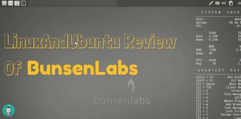 LinuxAndUbuntu Review Of BunsenLabs Linux
