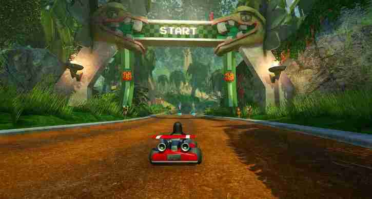 SuperTuxKart linux game