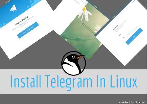 Telegram Messenger On Linux Telegram Linux96