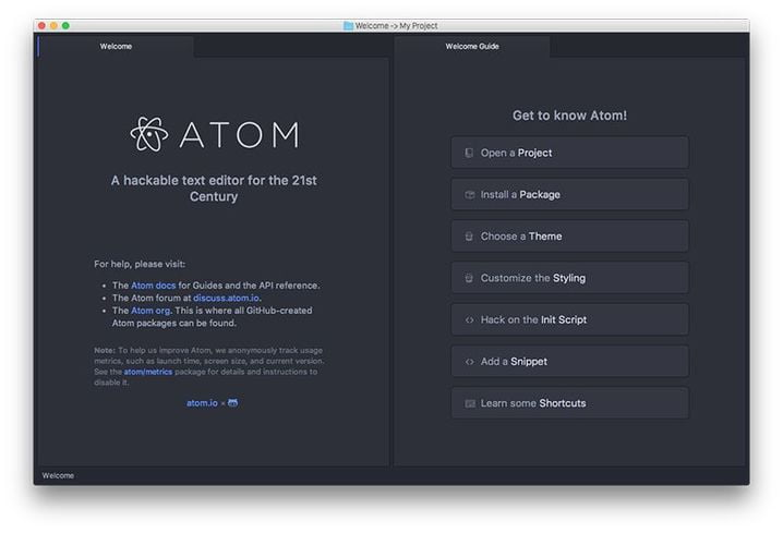 atom features at a glance