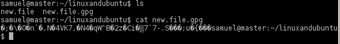 cipher encryption files in linux
