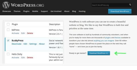 download latest wordpress in linux