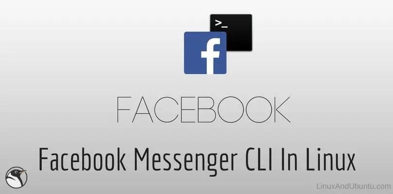facebook messenger cli chat via linux terminal