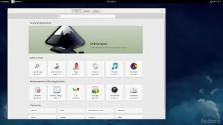 fedora 21 GNOME Software