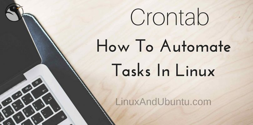 how to automate tasks in linux with crontab