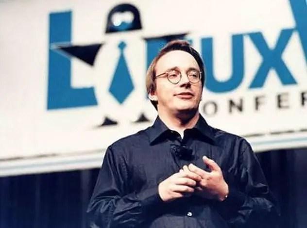 linux torvalds creator of linux kernel