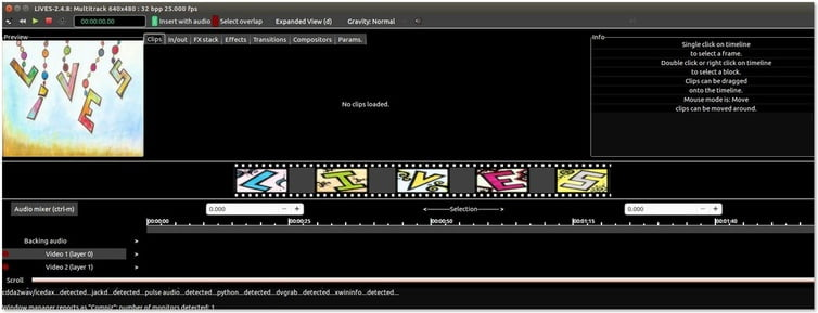 lives free video editing software