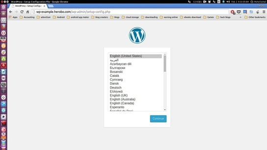 login to wordpress dashboar