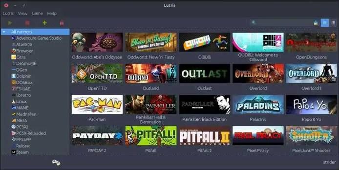 lutris gaming platform