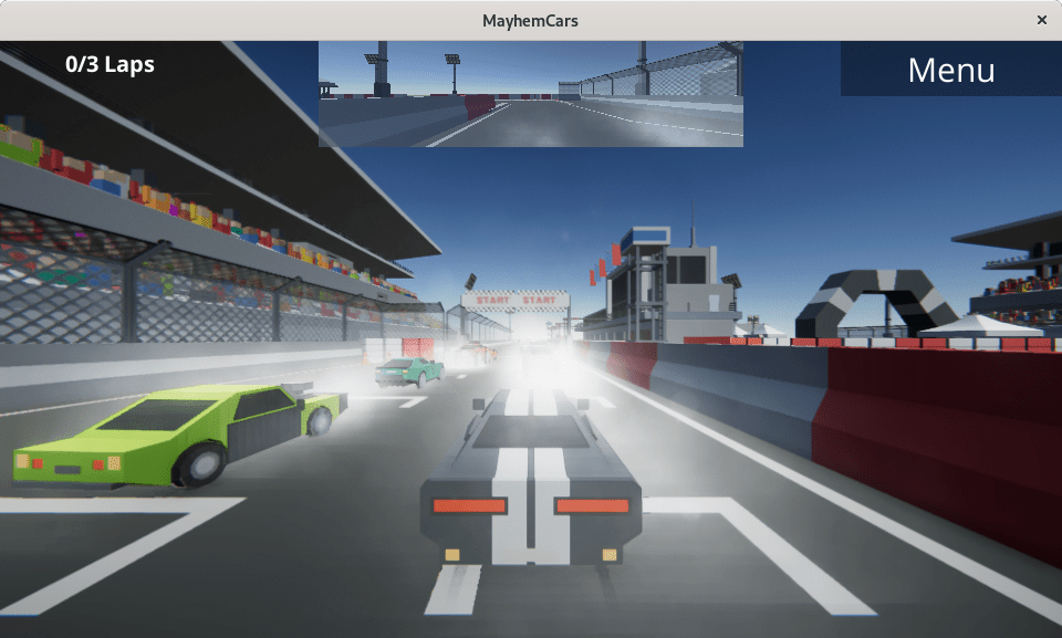mayhemcars start racing