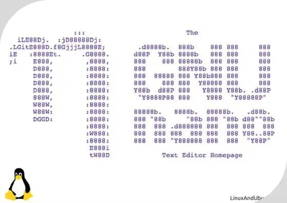 nano gnu linux text editor