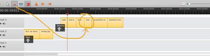 trim videos in openshot in linux