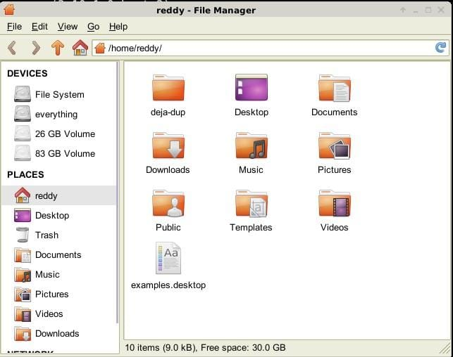 xfce file manager thunar