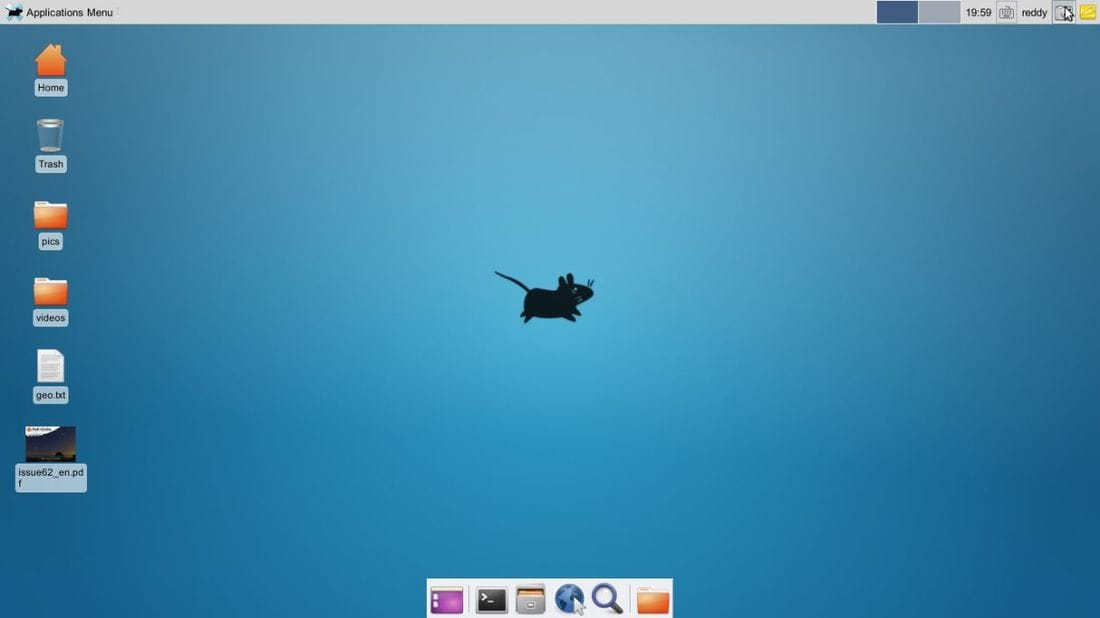 xfce is user friendly