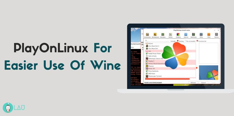 playonlinux for easier use of wine