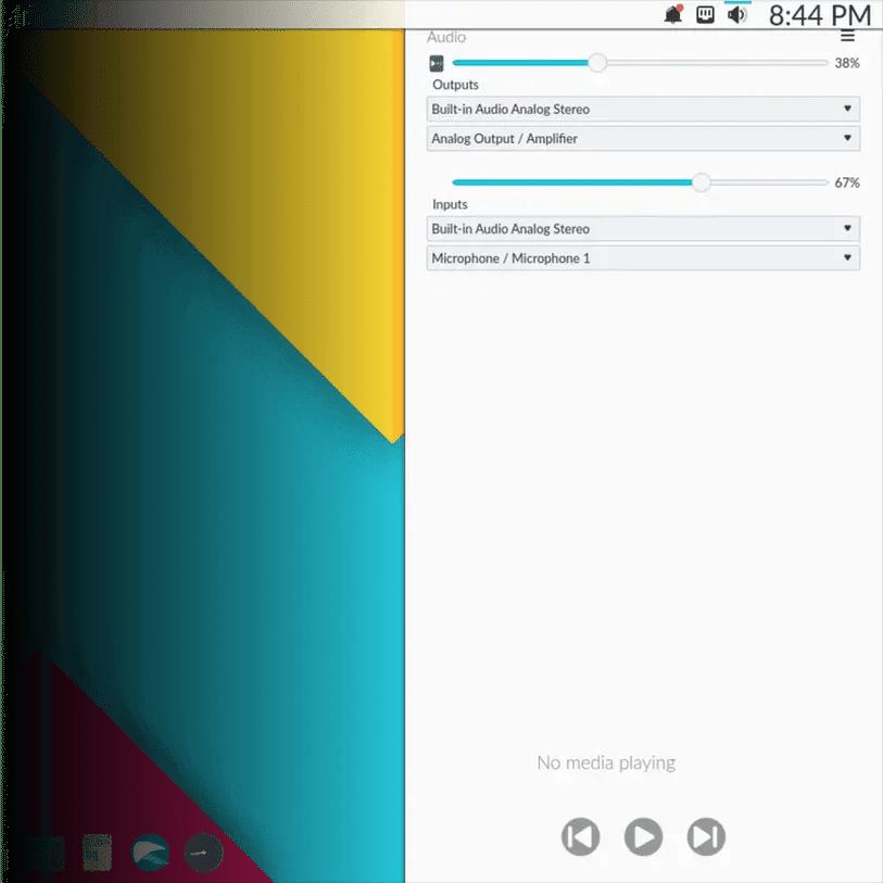 nitrux Nomad desktop